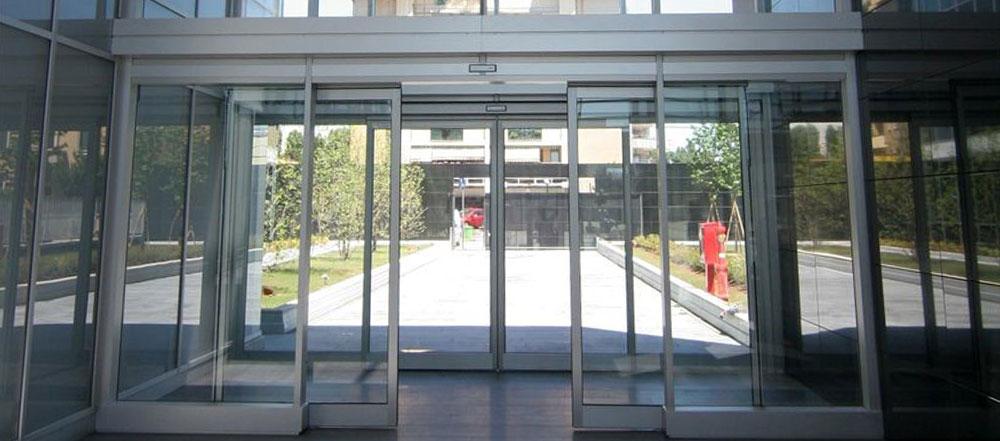 درب شیشه ای اتوماتیک بوکامو آلمان