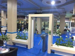 سیستم کنترل تردد باشگاه در تبریز